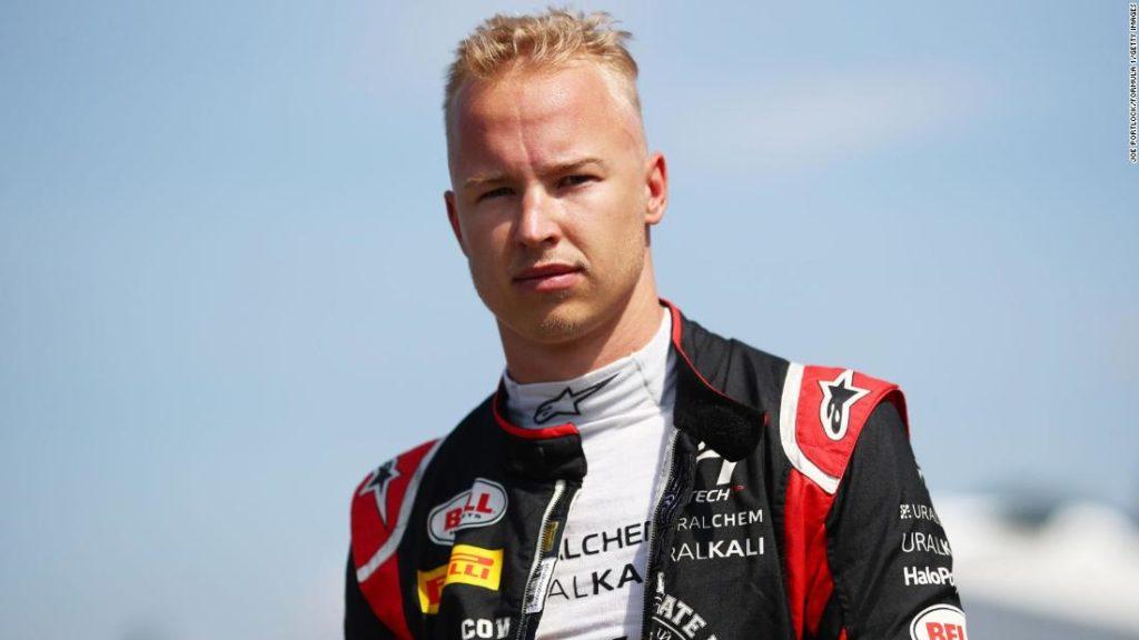 Nikita Mazepin: F1 driver apologizes for 'inappropriate behavior'