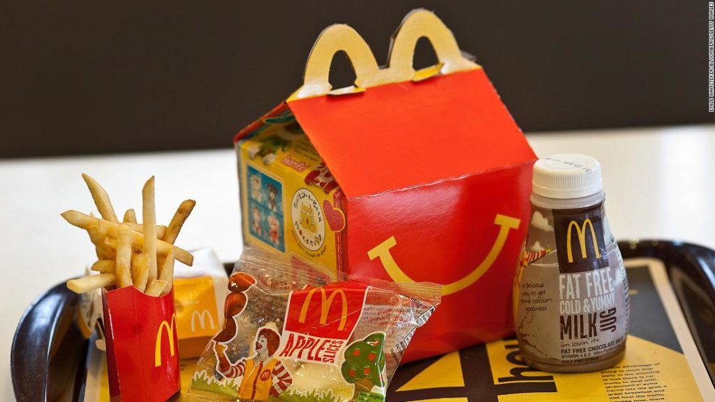 McDonald's Happy Meals could get more expensive next year