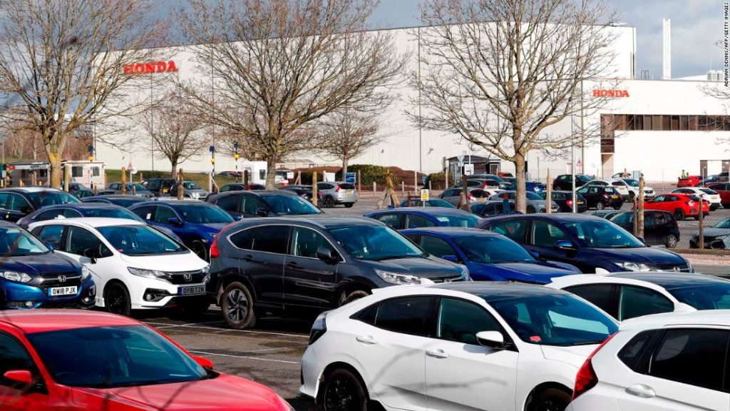 Honda's UK shutdown gives a taste of Brexit chaos to come