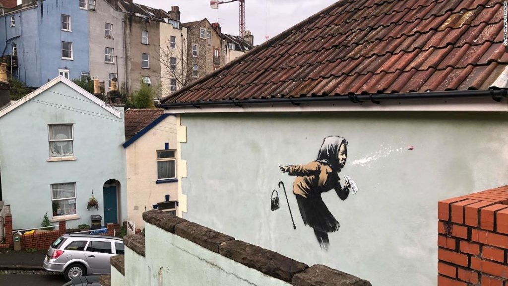 Banksy confirms new Bristol mural as his latest work