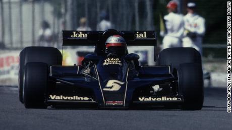 Mario Andretti's John Player-sponsored Black Beauty.