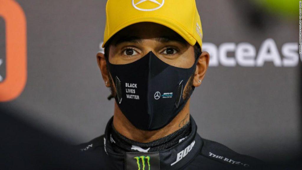 Lewis Hamilton not '100% fit' ahead of Abu Dhabi Grand Prix