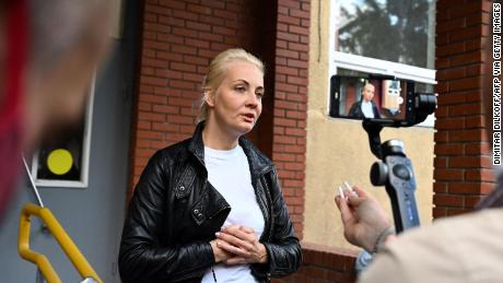 Yulia Navalnaya appealed directly to President Putin to allow her husband to be flown to Germany for treatment.