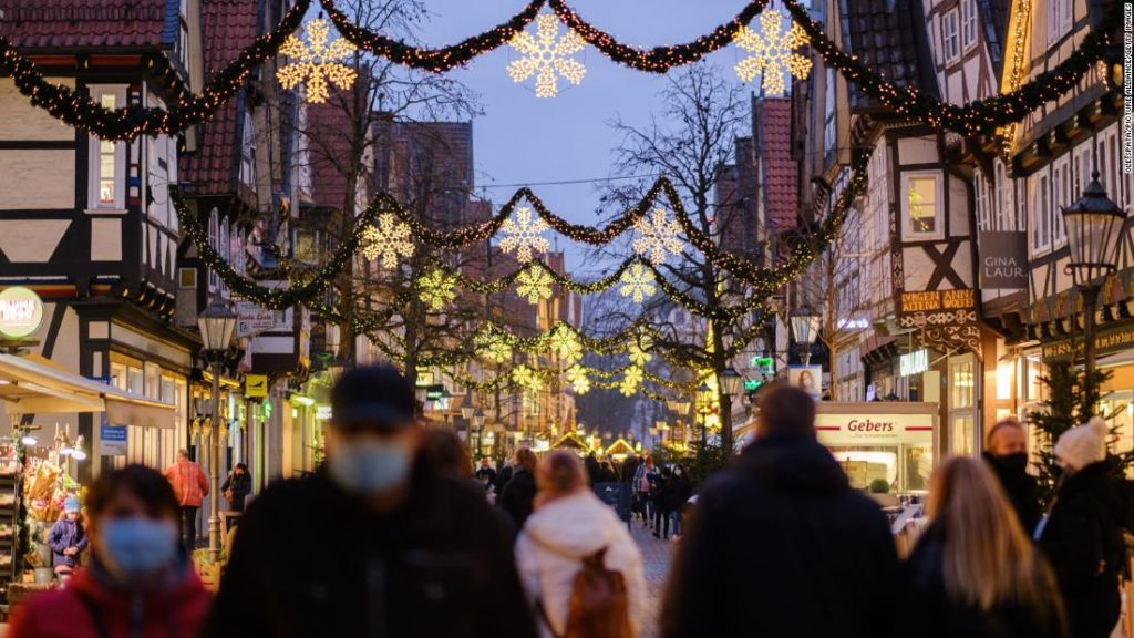 Germany to go into national lockdown over Christmas to stem rise in Covid-19 cases