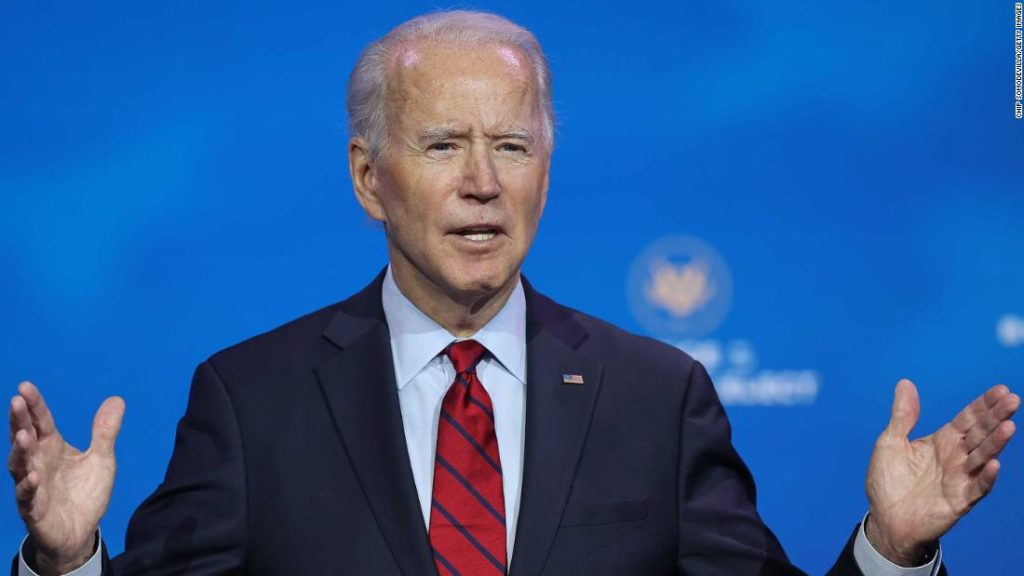Biden to call on nation to 'turn the page' and unite in speech after Electoral College vote
