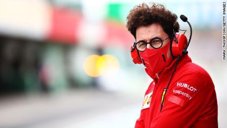 Mattia Binotto has been team principal of Scuderia Ferrari since late 2018.