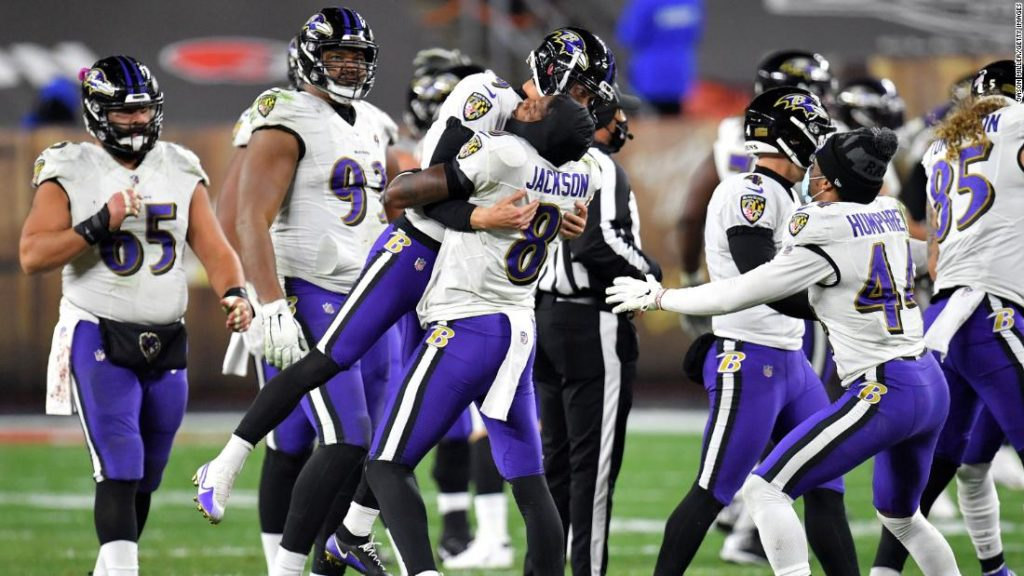 NFL: Baltimore Ravens beat Browns with field goal in dying seconds in Monday Night Football classic