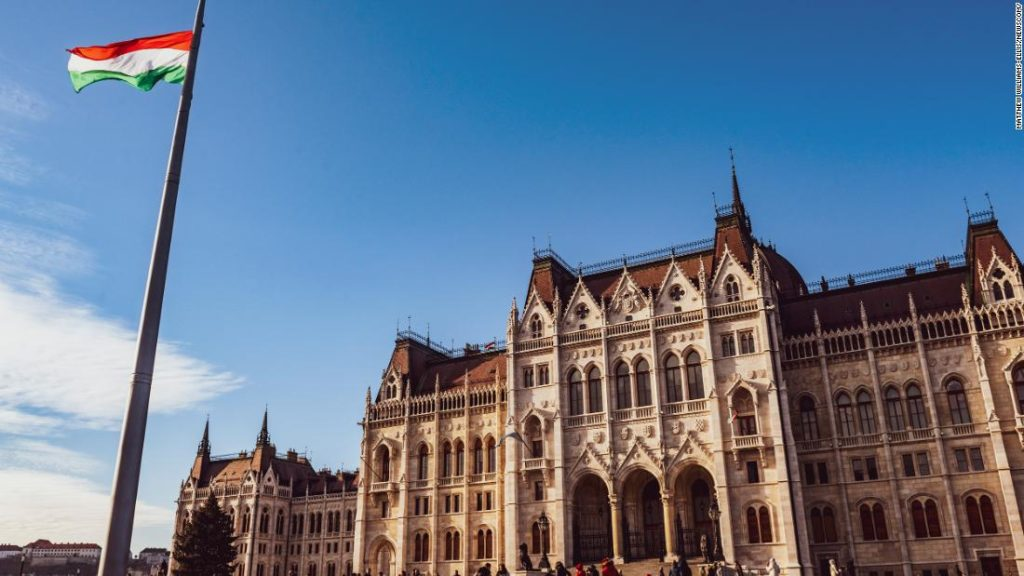 Hungary passes law effectively barring same-sex couples from adopting