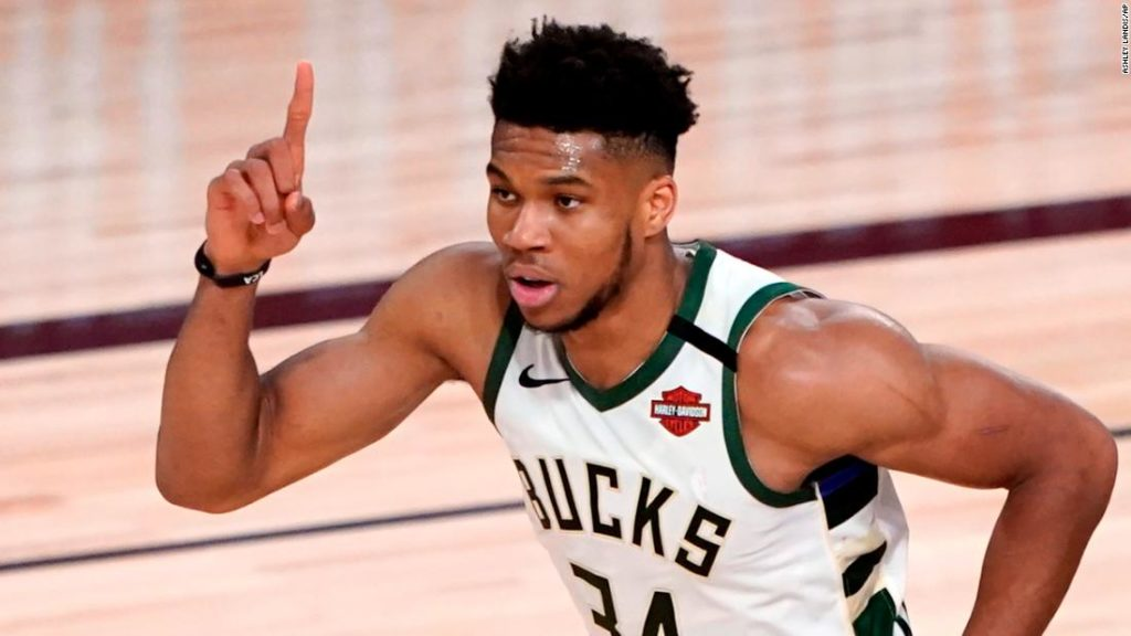 Giannis Antetokounmpo signs with Milwaukee Bucks for largest deal in NBA history