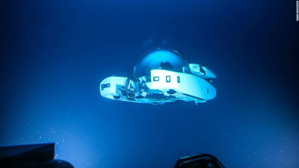 Triton submarine: The 'salon under the sea' that dives to 1,000 meters