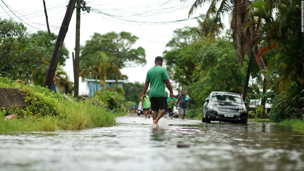 Cyclone Yasa: Fiji under curfew as powerful storm makes landfall