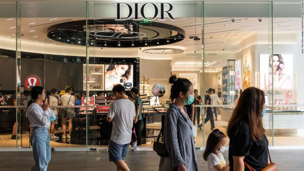 China's luxury market boomed this year, even as global sales shrank due to Covid-19