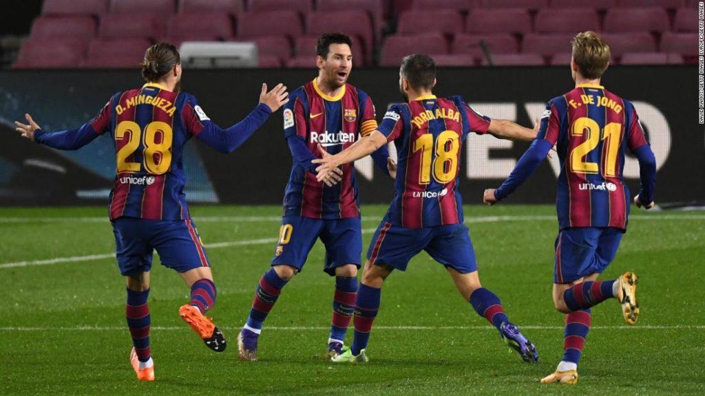 Barcelona defeats high-flying Real Sociedad