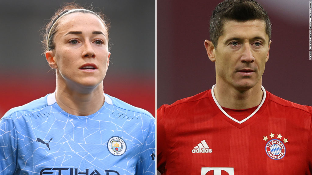 Robert Lewandowski and Lucy Bronze named the Best FIFA Players of the year