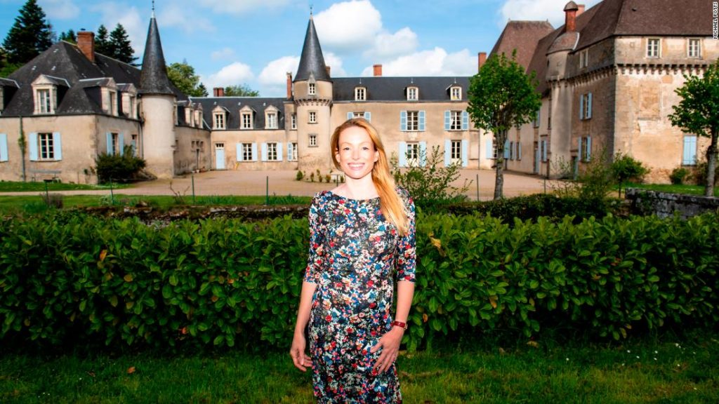 The pandemic shut down her chateau. Then she became a YouTube star