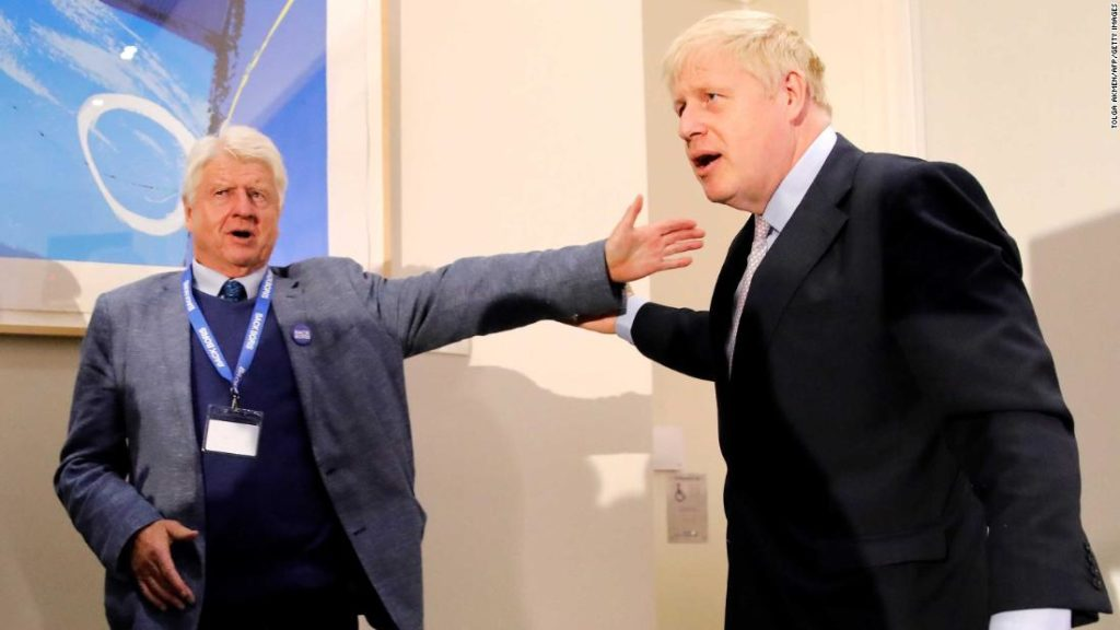 Boris Johnson's father says he'll seek French citizenship, hours before Brexit