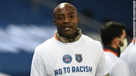 The fourth official was accused of making an alleged racist comment towards Pierre Webo.