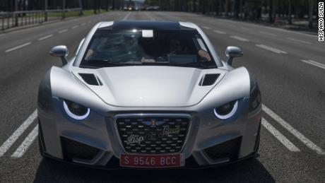 The new Hispano Suiza Carmen is a fully electric performance car.