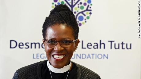 Reverend Canon Mpho Tutu van Furth was a keynote speaker at Wednesday's event.