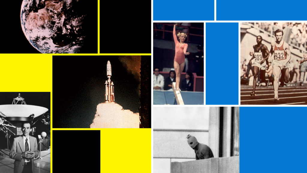 How a set of athletes at the 1972 Munich Olympics were immortalised on Voyager space mission