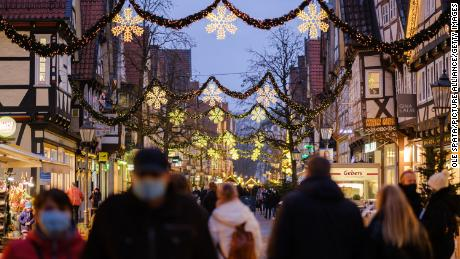 Germany to go into national lockdown over Christmas to stem surge in Covid-19 cases