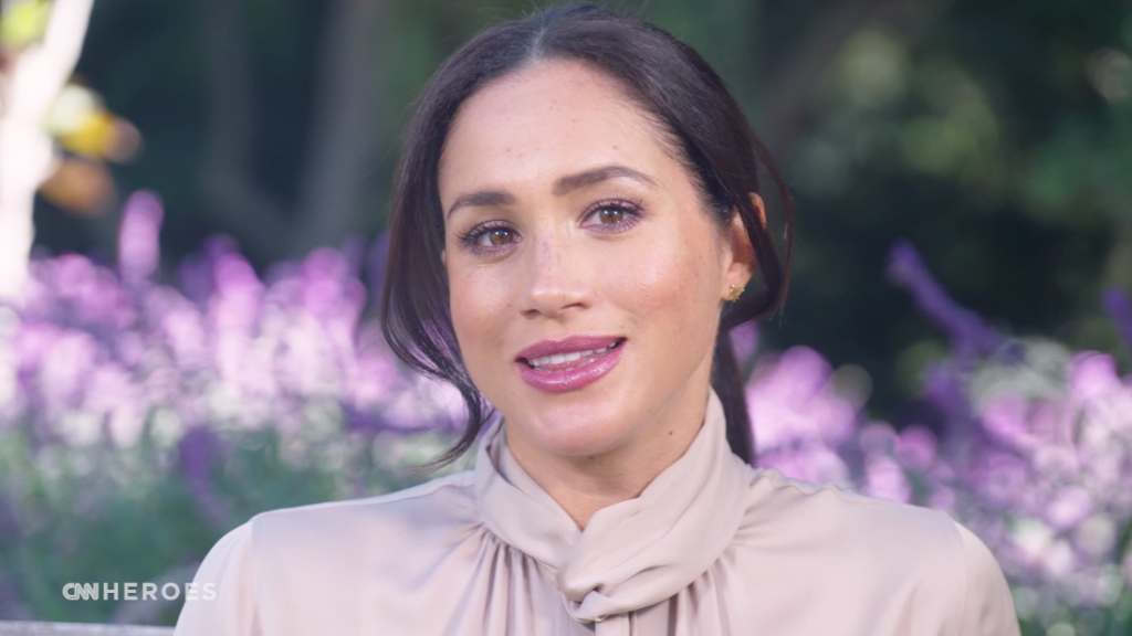 Meghan, The Duchess of Sussex, makes surprise appearance on CNN