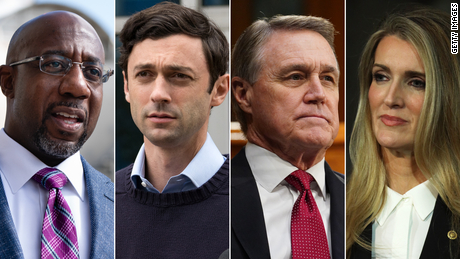 All eyes are on Georgia ahead of Trump's rally and Senate debate
