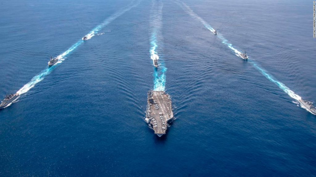 Amid Iranian threats, US orders USS Nimitz to remain in Middle East