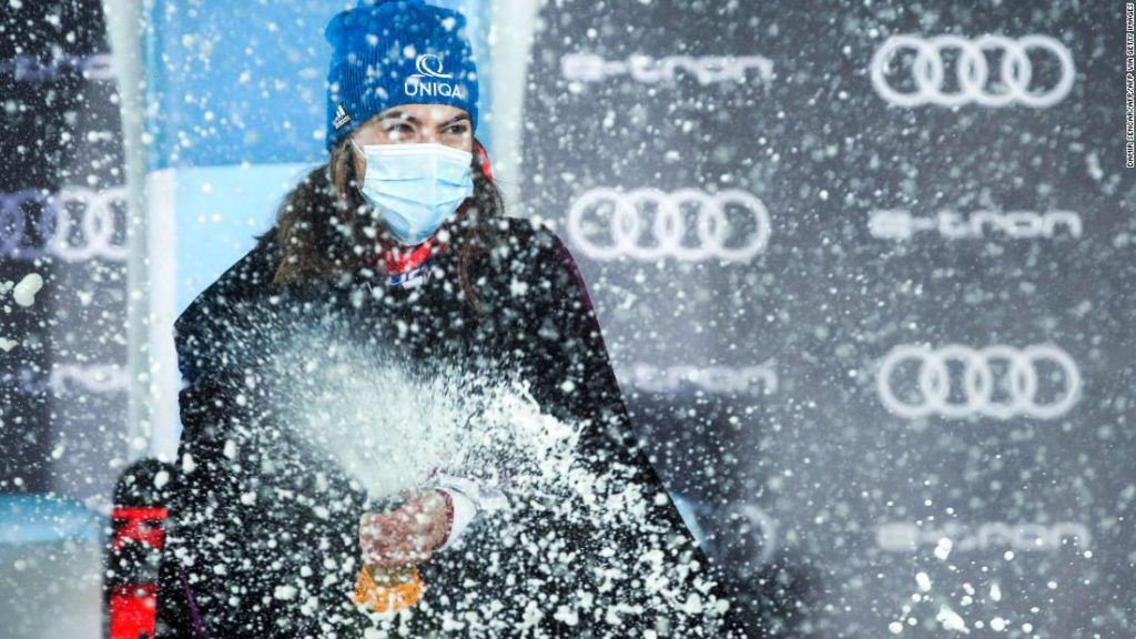 Petra Vlhova crowned 'Snow Queen' with Zagreb slalom win