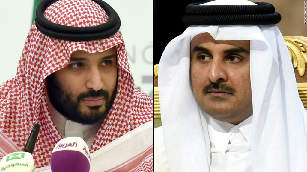 Saudi Arabia and Qatar will reopen airspace and maritime borders ahead of GCC Summit