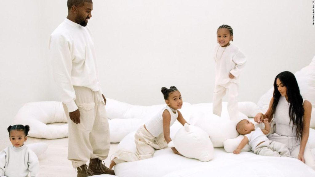 Inside Kim and Kanye's stunning LA mansion