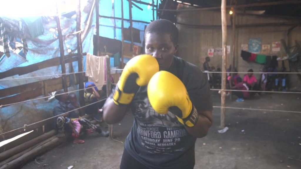 This female boxer in Uganda is inspiring young women to fight for themselves