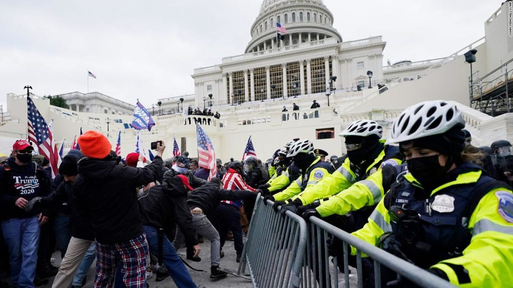 US Capitol secured, 4 dead after rioters stormed the halls of Congress to block Biden's win