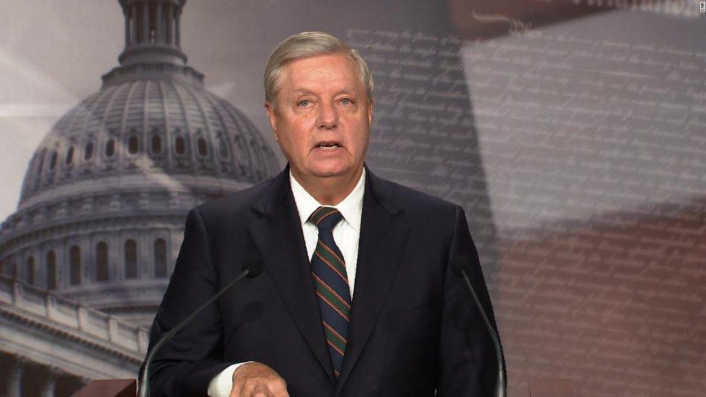 Graham criticizes Trump and Giuliani over Capitol riots