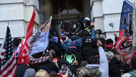 US allies condemned the actions of rioters on Wednesday