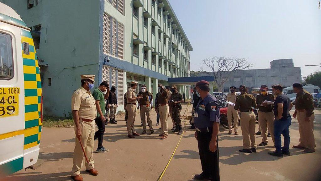 Ten newborn babies die in hospital fire in India's Maharashtra state