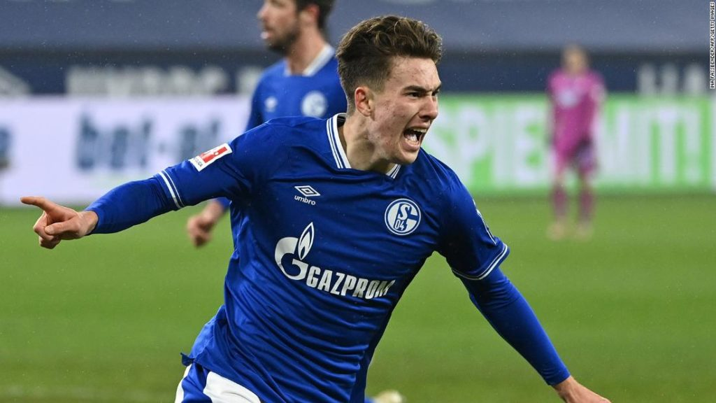 Schalke: After 30 league games without a win, Bundesliga team stops the rot with 4-0 victory against Hoffenheim as Matthew Hoppe scores hat-trick