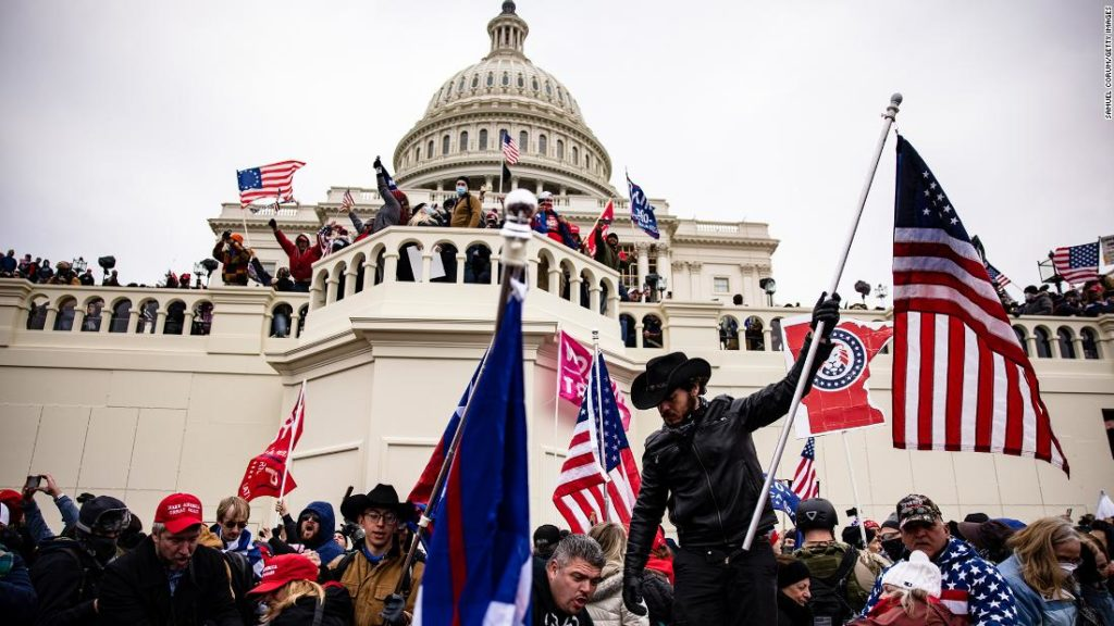 Decoding the extremist symbols and groups at the Capitol Hill insurrection