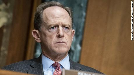 Toomey says Trump should resign and could face 'criminal liability'