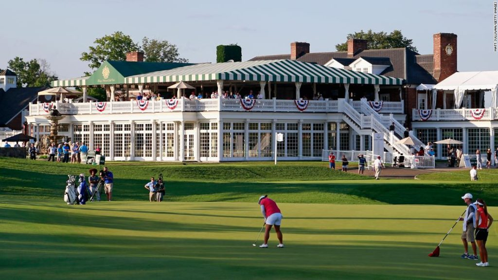 PGA cancels plans to play 2022 championship at Trump golf course
