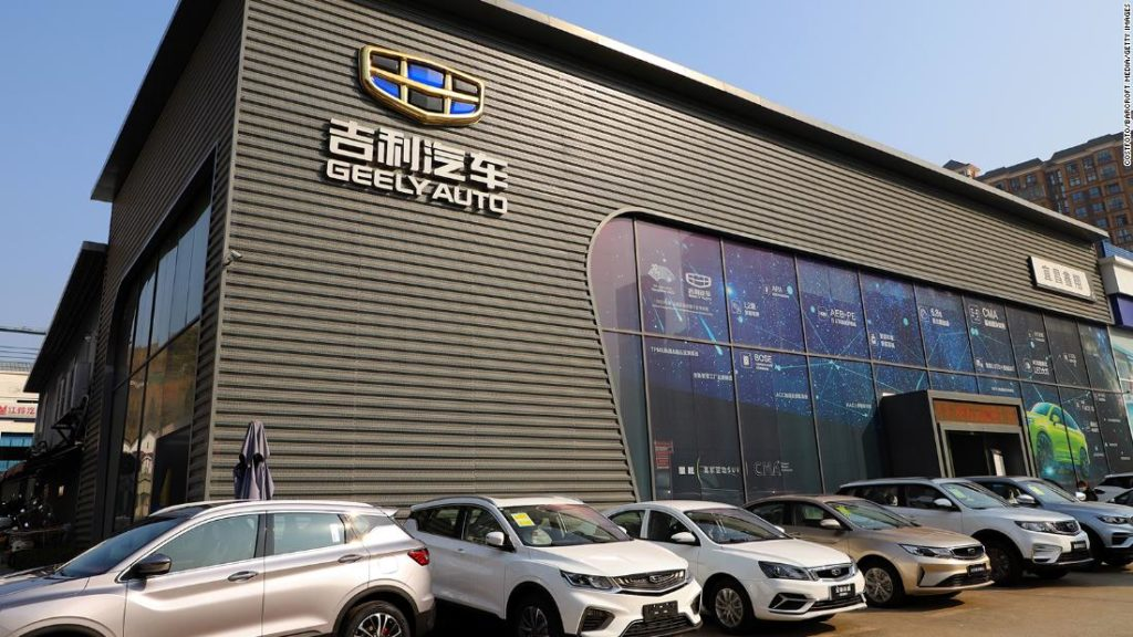 Baidu and Geely team up to build electric cars