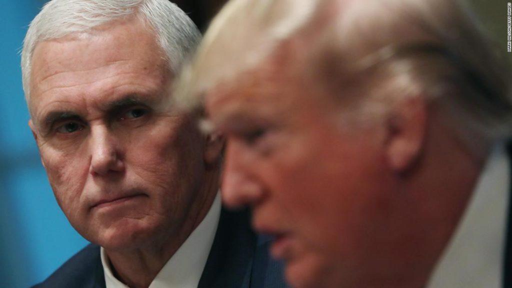 Pence and Trump finally speak after post-riot estrangement
