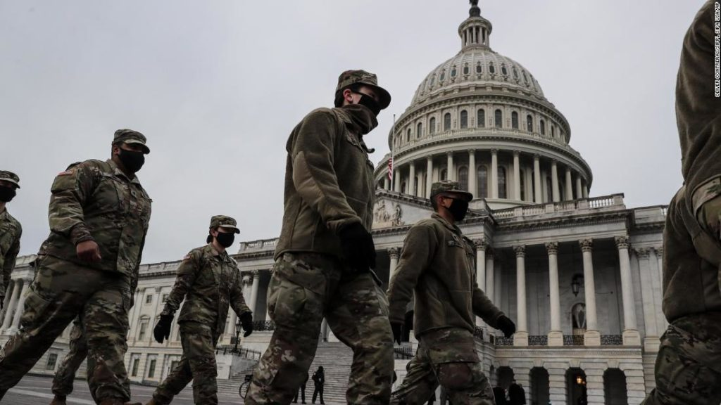 Broken windows, garbage and offices torn apart at the Capitol