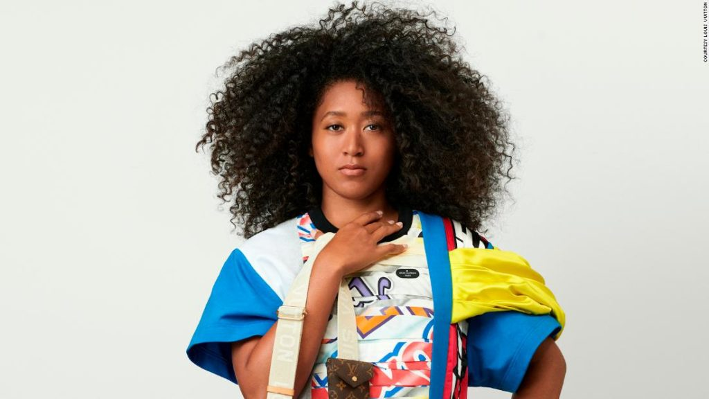 Naomi Osaka revealed as the new face of Louis Vuitton