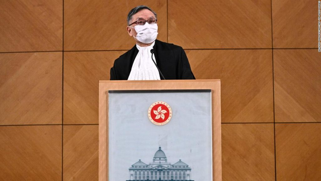 Hong Kong's new Chief Justice has vowed to uphold the city's judicial independence. Can he?