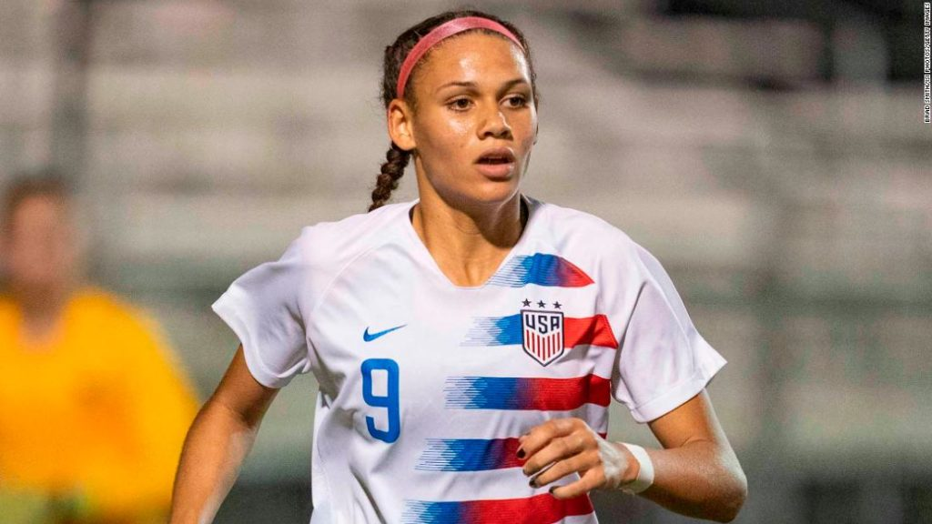 Trinity Rodman, daughter of the NBA legend Dennis Rodman, drafted 2nd overall in pro soccer league