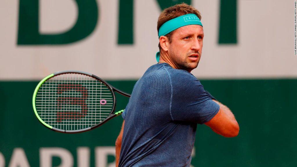 Tennys Sandgren: US tennis player boards plane to Australian Open despite positive Covid-19 test