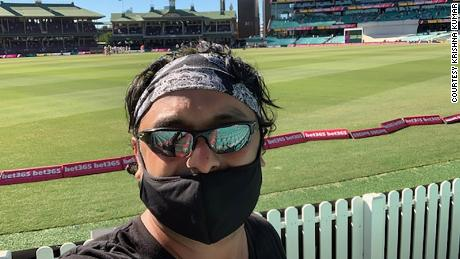 Kumar says he was racially profiled by staff at the SCG.