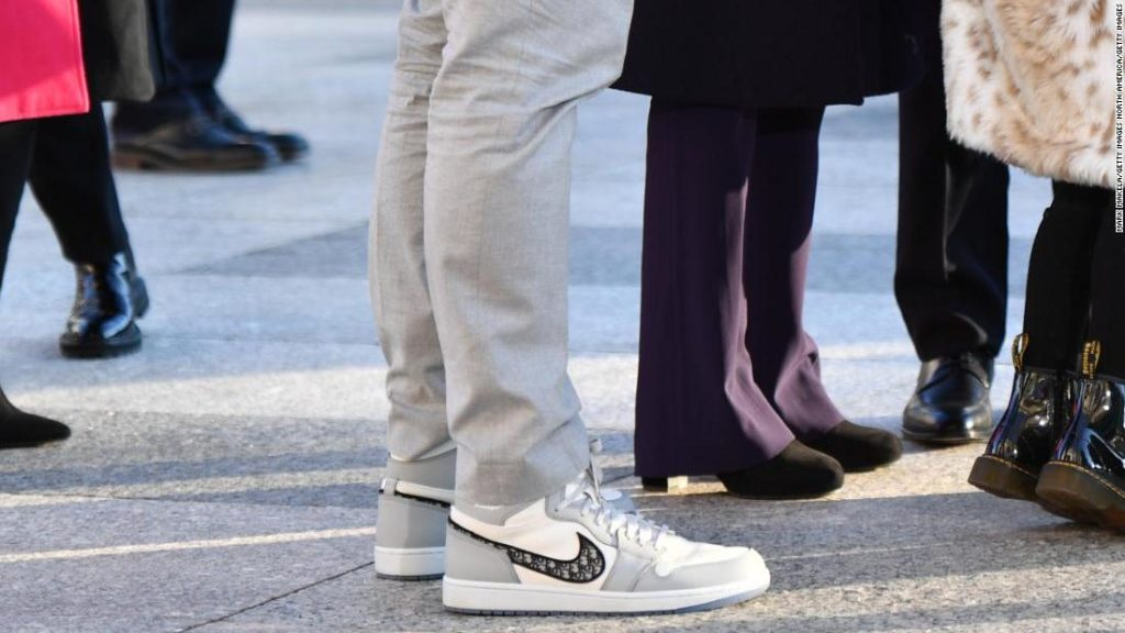 Inauguration cool: Forget the outfits, everyone is talking about the kicks