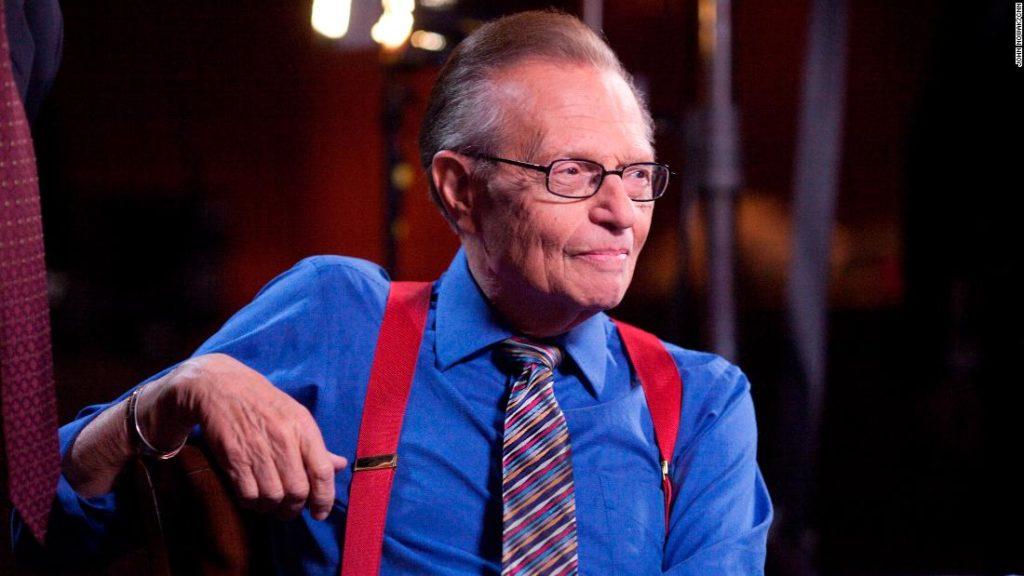 Legendary talk-show host Larry King